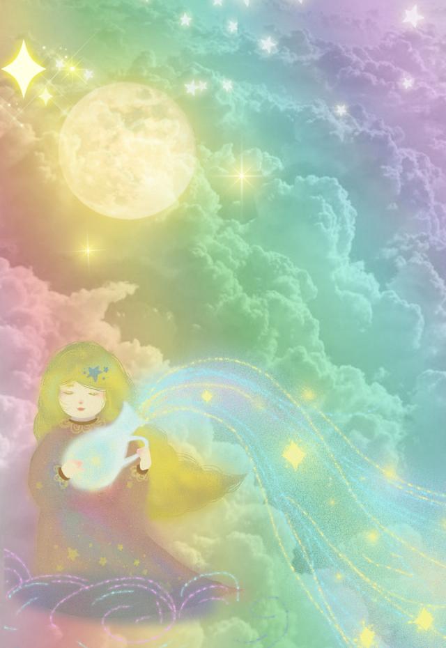 #freetoedit #fantasyart #sky #clouds #angel #fairy #stars #aesthetic #colorful #pastelcolors #stickers #blending #adjusttools #myedit #madewithpicsart