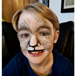 makeup facepaint halloween werewolf