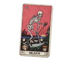 tarot death deathtarot aesthetic red scary freetoedit