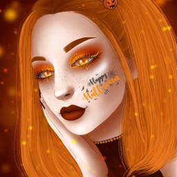 freetoedit surrealart acetaldigital halloween pumpkin dayofthedead srchalloween