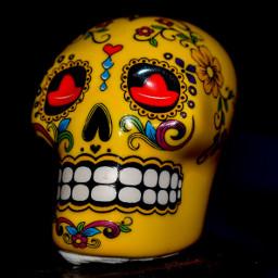 unedited freetoedit diadelosmuertos dayofthedead skull