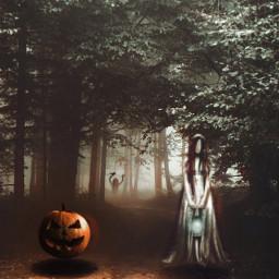 freetoedit halloween happyhalloween spooky ghosts scary