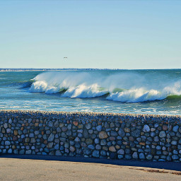 freetoedit atlanticocean waves windy november