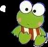 #hellokitty #frog #green #limegreen #cute #greenaesthetic #blush #freetoedit #freetoedit