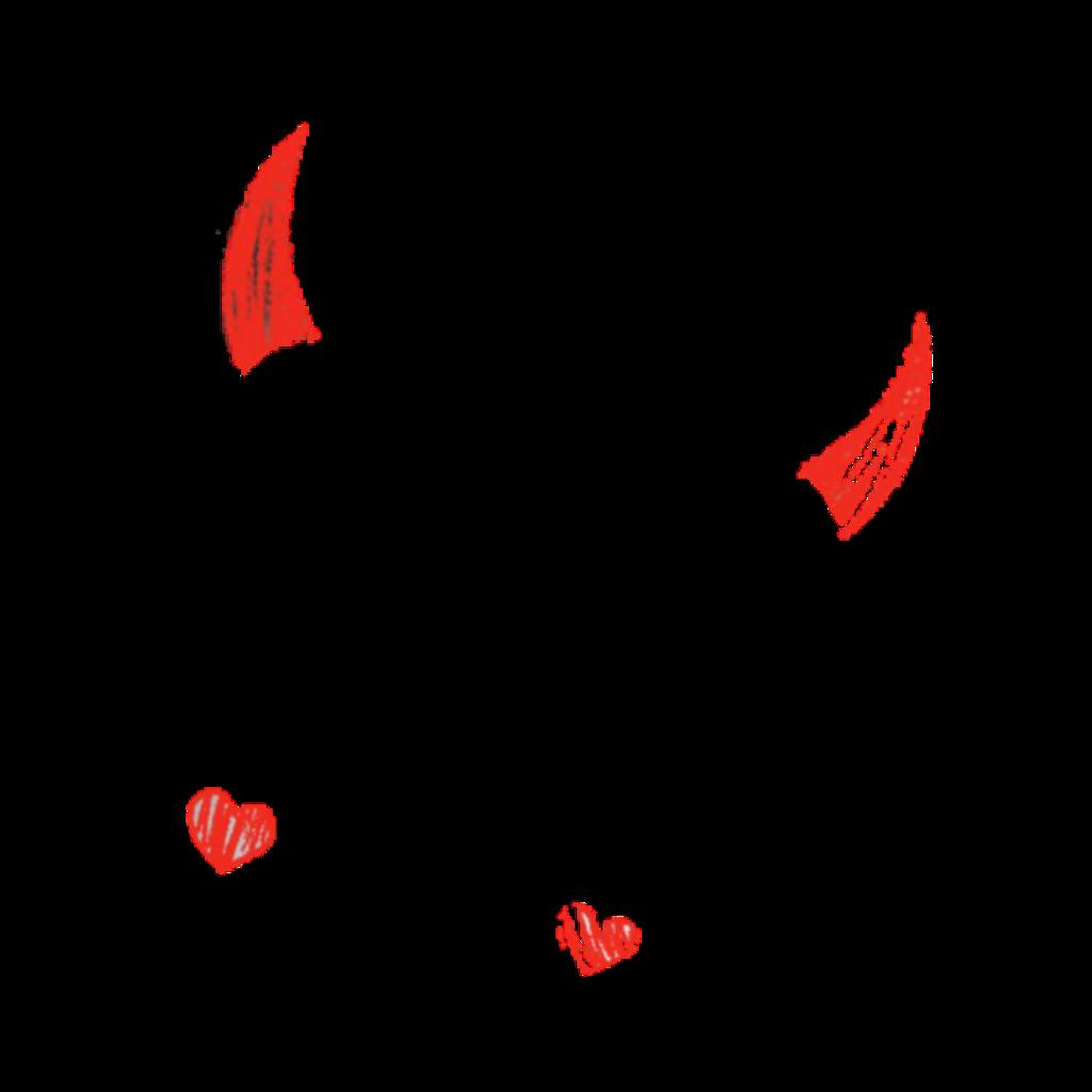 @TechProDee #freetoedit #TechDee #TechDeeDomains.Pro #TechDeesSocialJusticeCauses #Remix #Sticker #Background|Clear #DevilHorns #Heart #Red