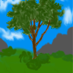 lonelytree tree treeart dcalonelytree alonelytree