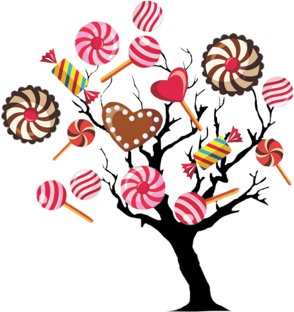 #sctreesilhouette #treesilhouette #tree #candies