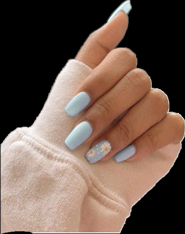#acrylic #acrilycnails nails #nails #aesthetic #vsco #sunflower