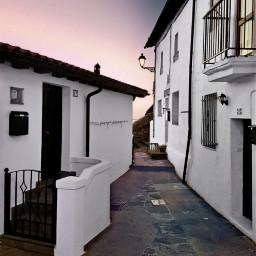 freetoedit street sunset facades photography