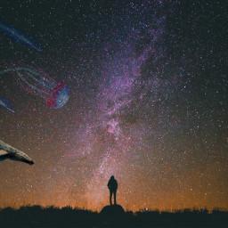 remix star stars galaxy starrysky freetoedit