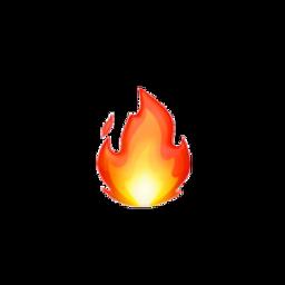 fire fogo emoji laranja orange freetoedit