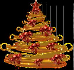 tree christmas christmastree silhouette gold freetoedit sctreesilhouette treesilhouette