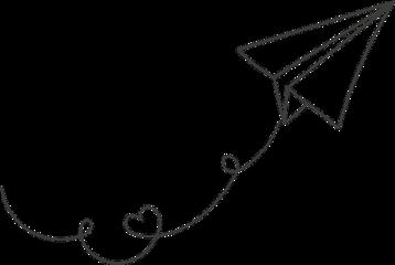 тамблер tumblr love tattoo самолетик freetoedit