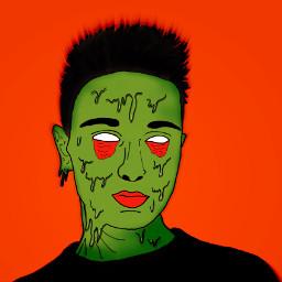zombiegrime zombieboy drawstepbystep grimeart classic