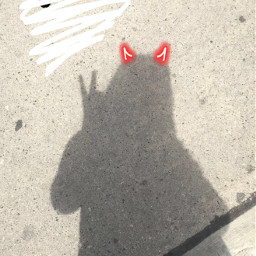 freetoedit devil drip black horns