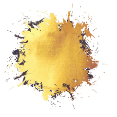 gold splash paint freetoedit