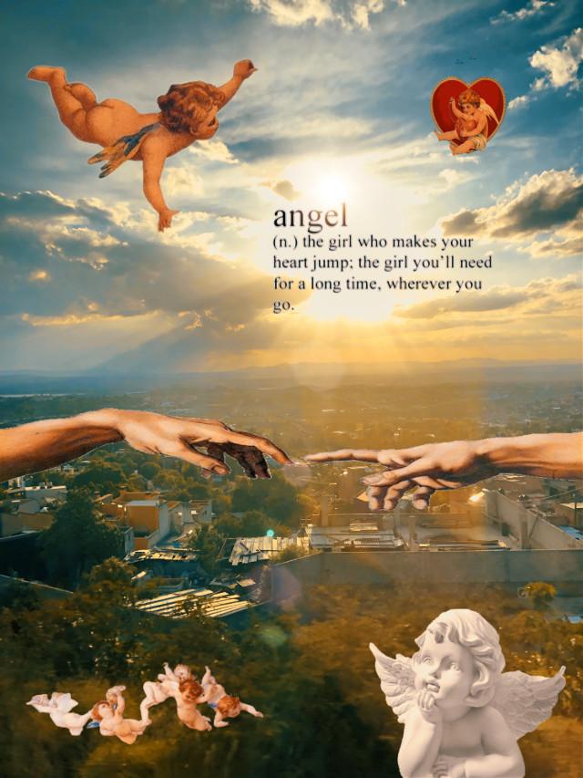 #freetoedit #angel