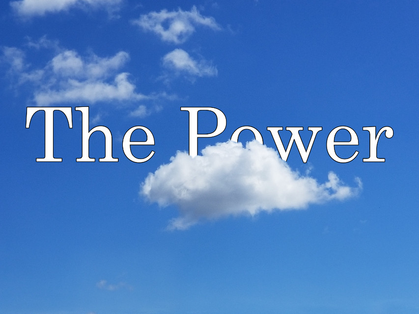 #freetoedit #power #clouds #myedit