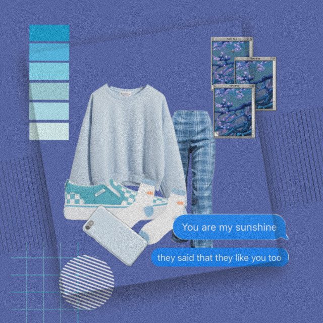 Outfit of the day  Everything is blue 🔵🔹️🔷️💙🐳🥶📘🐋🐦  #freetoedit  #blue #aesthetic #blueaesthetic  #ootd #outfit