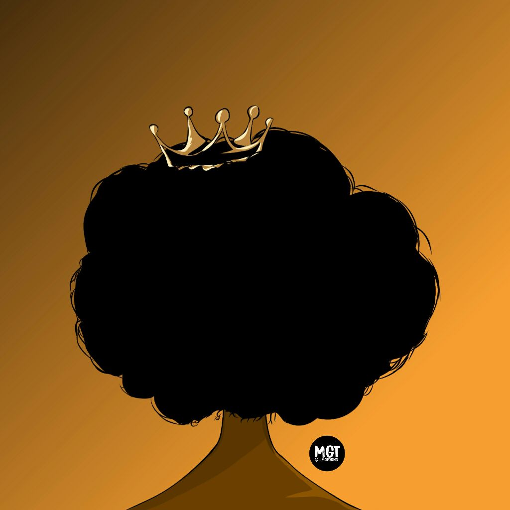 Queen Nana #myedit #outline #sketch #afro #beauty #freetoedit #simple #myphoto #light #edit