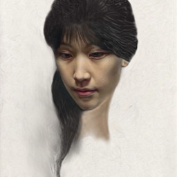 portrait digitalpainting freetoedit