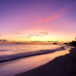 hawaii ocean beach sunrise vacation freetoedit