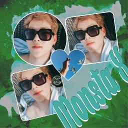 jooheon honey monstax kpop green freetoedit
