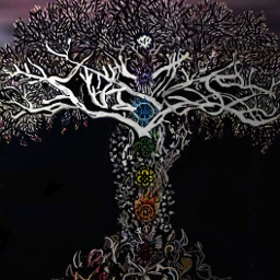 lonelytree chakra life treeoflife growth dcalonelytree