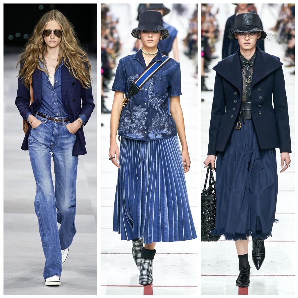 Celine весна-лето 2020, Christian Dior осень-зима 2019,  Christian Dior осень-зима 2019