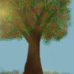 myoriginaldrawing drawstepbystep keepitsimple123 fallcolors picsart dcalonelytree