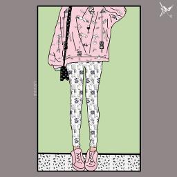 freetoedit Art girl outline draw freetoedit Background Backgrounds Arkaplan Duvarka Meeori