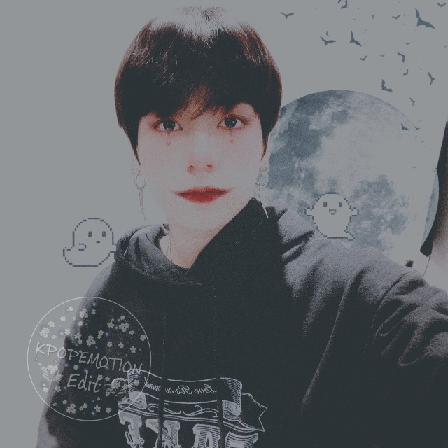 This is terrible, and late, but, happy halloween🕯  #freetoedit #bts #jungkook #kookie #jeonjungkook #halloween