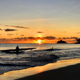 beach surf surfing surfboard sunrise freetoedit