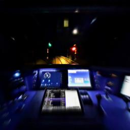 freetoedit train cockpit lights night