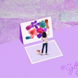 freetoedit purple littlepainter stickers colorchanger ircpeachquartz peachquartz