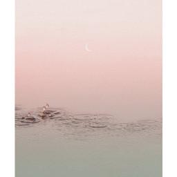 freetoedit evening moon water frame