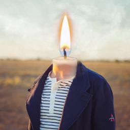 freetoedit candle surreal flame myedit