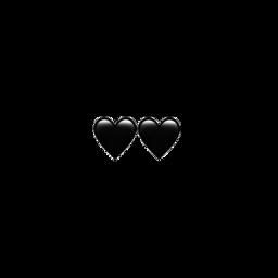 emojisticker emoji black cute freetoedit
