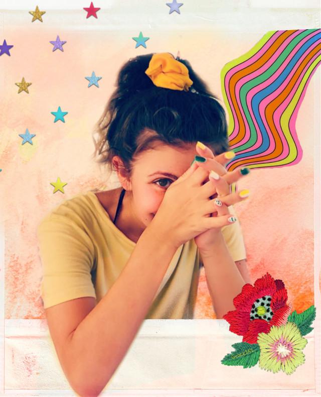 #freetoedit #PicsArtReplay #myedit #nail #smile #stars #rainbow #papereffect Op @chiaraparise1 @sydneywoods50 @picsart @freetoedit