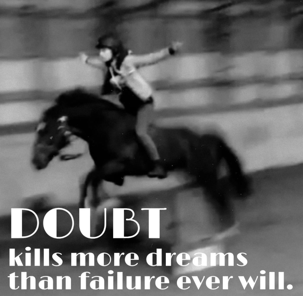 Mybown picture with a quote found on pinterest #freetoedit #quote #horse #pony #gibson