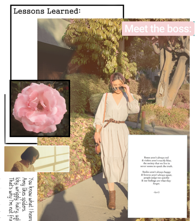 #freetoedit #trial #newspaper #magazine #layout #aesthetic #niche #beige