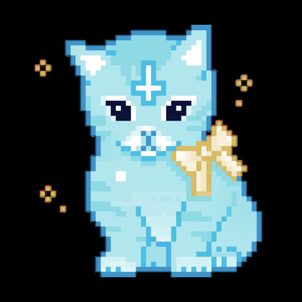 #freetoedit #cute satanic cat
