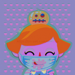 animalcrossing aesthetic colourful pumpkin outfit