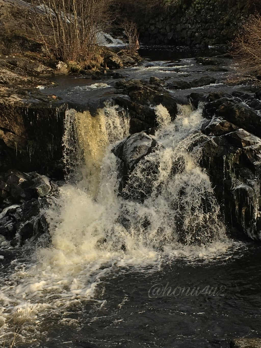 #interesting #nature #powerful #river #stream#waterfall#bærumsverk#outandabouth#myday#november#cold#crispy