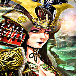 freetoedit popfantasy badlandsmagiceffect samurai dragon ircwalkingby