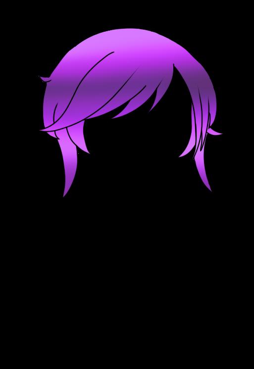 1 Part of the galixy hair (kinda like laurenZsides hair) #gachalife #gachahair #gachalifehair #freetoedit