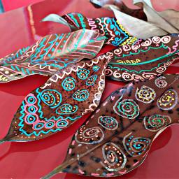 leafs colorful colors preschool freetoedit