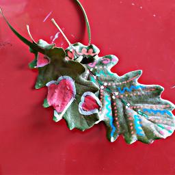 freetoedit fantasy colors leafs