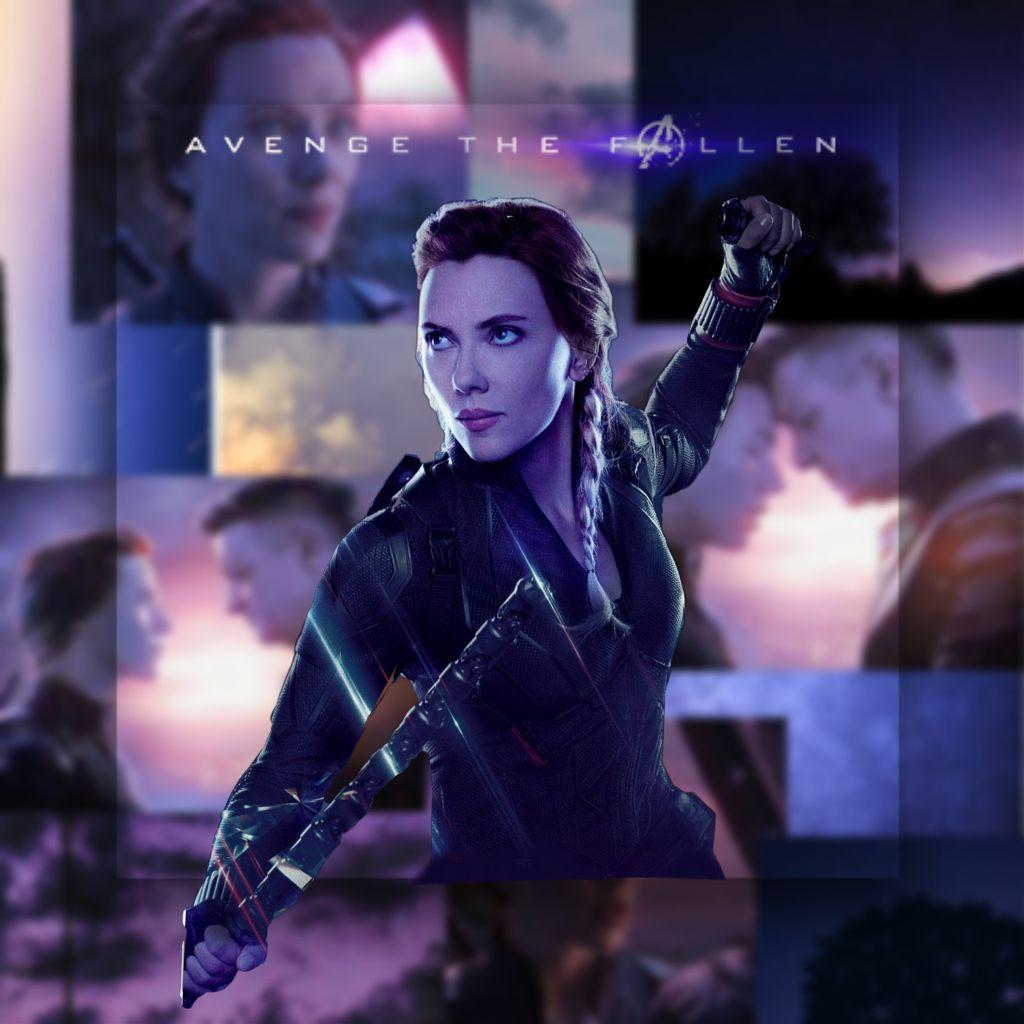 see you in a minute... #natasharomanoff #blackwidow #avengersendgame  #avengers  #avengethefallen #marvel #mcu  #freetoedit