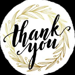 thanks thankful thankyou thank thankyoustickers freetoedit scthanks